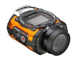 RICOH WG-M1 Orange Waterproof Action Video Camera Full HD EM