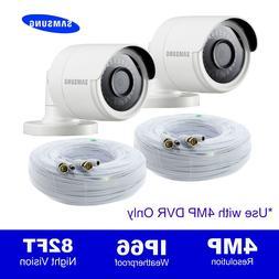 Set of 2, Wisenet SDC-89440BF 4MP HD Camera  SDH-C85100BFN,