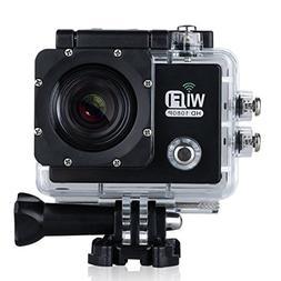 """Sport Camera - SODIAL 2.0"""" LTPS LCD 1080P 14MP 30M Waterproo"""