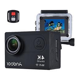 Sports Camera, Andoer 4K Action Camera AN6000 40m Waterproof