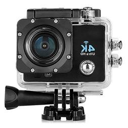 "Sports Camera - SODIAL Q6 4K 16MP 2.0"" HD LCD Display Mini V"