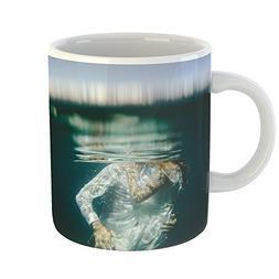 Westlake Art - Underwater Water - 11oz Coffee Cup Mug - Mode