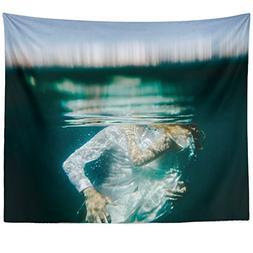 Westlake Art - Wall Hanging Tapestry - Underwater Water - Ph