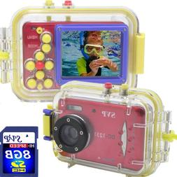 Acqua DC-1231 Red 12MP Max. Digital Still Camera with waterp