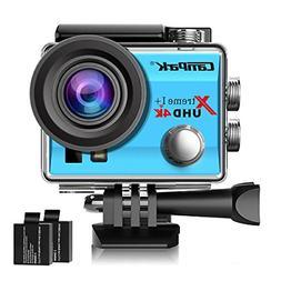 Campark ACT74 Action Camera 4K WiFi Waterproof Sports Camera