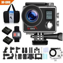 Campark ACT76 Action Camera 4K UHD WiFi Waterproof DV Camcor