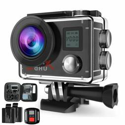 Campark ACT76 Action Sports Camera 4K WiFi DV Camcoder Water