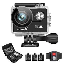 Action Camera, Vemico Sports Action Camera 4K WIFI Ultra HD