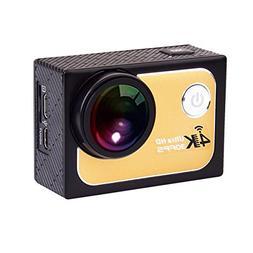SODIAL 4K HD Action Camera 30FPS 1080P 60FPS DV 16M 2.0in LT