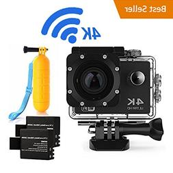 Action Camera 4K16MP WiFi Waterproof Sports Diving Cam DV Ca