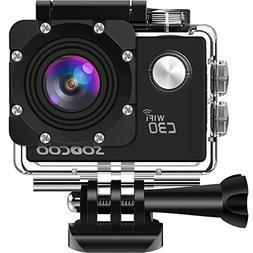 4K WIFI Action Camera Waterproof,SOOCOO C30 Video Sport Came