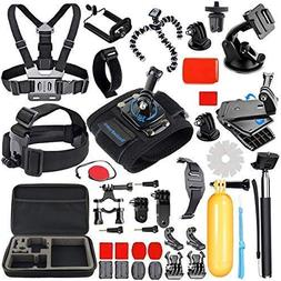 SmilePowo Sports Action Camera Accessory Kit for GoPro Hero6