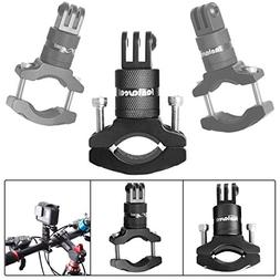 Action Camera Bike Mount Compatible with GoPro 360 Degree Ro