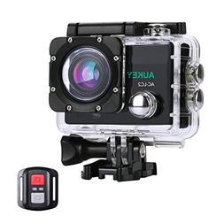 AUKEY Action Camera, 4K Ultra HD Waterproof Underwater Spor