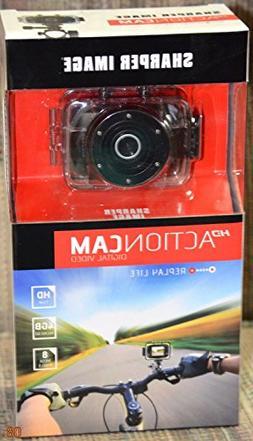 Sharper Image Hd 720p Action Cam, 8 Megapixel Digital Video