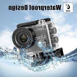 Action Camera HD 1080P Sports Cam 30m Underwater Waterproof