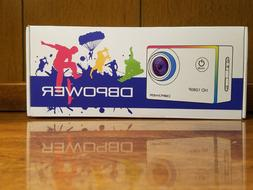 DBPOWER Action Camera 1080P HD WiFi Waterproof Sports Ca