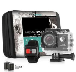 Action camera 4K Sports Ultra HD DV 16MP 1080p 60fps + Acces