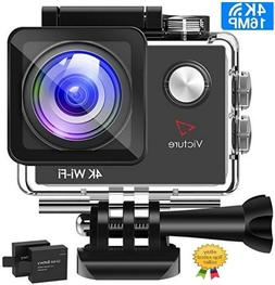 action camera 4k wifi 16mp 98 feet