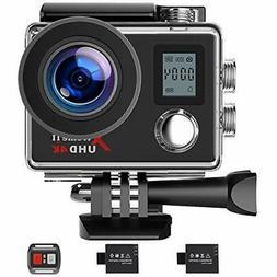 Campark Action Camera 4K WiFi Ultra HD Sports Cam Underwater