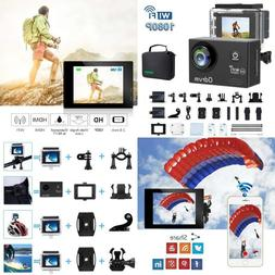 ODRVM Action Camera HD 1080P Underwater Waterproof Sports Ca