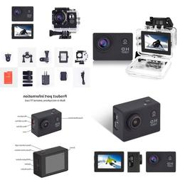 Yuntab Action Camera Sport Dv 1080P Mini 30-Meter Waterproof