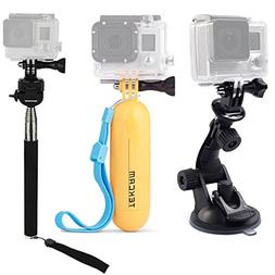 TEKCAM Action Camera Accessories Kits Bundle For Gopro Hero