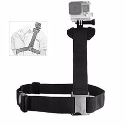 TEKCAM Action Camera Shoulder Strap Mount Compatible Gopro H
