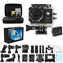 AKEDRE  Action Camera SJ7000 Action Dv Waterproof Wifi Sport