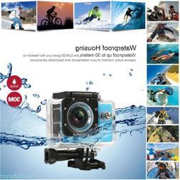 Action Sport Camera DBPOWER 4K WIFI HD Sports DV,Waterproof