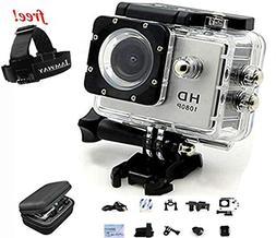 Action Camera IAMWAY Ultra HD 30 Meter 1080P Waterproof Camc