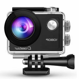Crosstour Action Waterproof Camera Full HD Anti-Shake Time-L