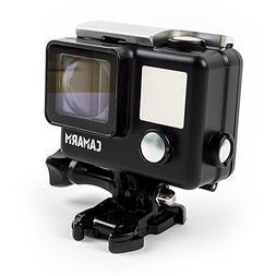 Camarm Action Camera Waterproof Housing HERO 4 Black Design