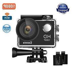 Action Camera Sport Camera 1080P Full HD Waterproof Underwat