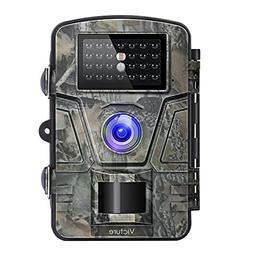 Victure Trail Camera 1080P 12MP Wildlife Camera Motion Activ