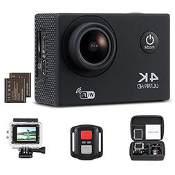 Yimaler 4K Action Camera HD 1080P WiFi Waterproof Mini Sport