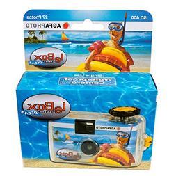 Agfa Photo LeBox Ocean 35mm Waterproof Disposable Camera, 27