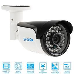 KKmoon 1080P 2.0MP AHD Bullet CCTV Camera 30 IR LEDs 3.6mm 1