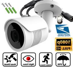 AHD TVI 2MP 1080P Night Vision Security Camera 3.6mm Lens Bu