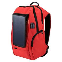 Andoer Outdoor Charging Backpack with USB Port Waterproof Br