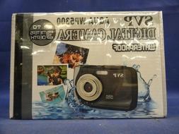 SVP Aqua WP5300 Black 12MP Waterproof Digital Camera Brand N