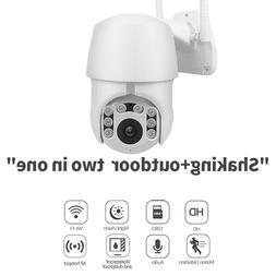 Audio Camera Security Wireless WIFI PTZ IP HD 1080P Outdoor