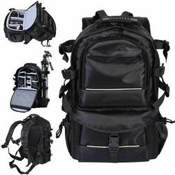 Waterproof Nylon Camera Backpack Bag With  Cover For Canon N