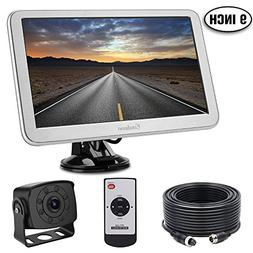 Backup Camera with Monitor Kit for RV, Van, Totally Upgraded