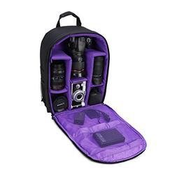"Camera Bag Camera Backpack Waterproof 16"" X 13"" X 5"" with Ra"