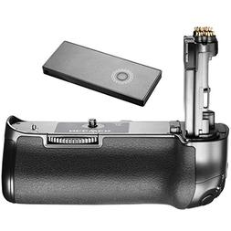 Neewer Battery Grip for Canon 5D Mark IV Camera, 2.4G Wirele