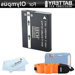 Battery Kit Bundle For Olympus TOUGH TG-Tracker, TG-5, TG-2