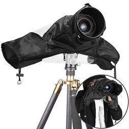 Neewer Black Camera Rain Cover Shield Coat Waterproof Rainwe