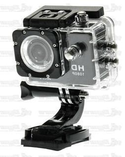 Diamond Black WaterProof 1080p Full HD Sports Camera