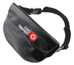DURAGADGET Black Waterproof Dry Portable Pouch Bag with Adju
